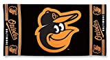 "MLB Baltimore Orioles A1876915 Fiber Beach Towel, 9 lb/30"" x 60"""