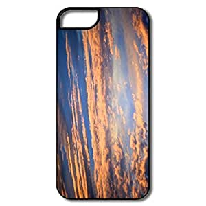 Beautiful grassland Brand New Cover Case with Hard Shell Protection for Iphone 5C Case lxa#456712 by Maris's Diary