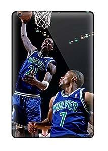 Tough Ipad EmQkZFB1019eYOoB Case Cover/ Case For Ipad Mini/mini 2(sports Nba Basketball Kevin Garnett Minnesota Timberwolves Houston Rockets )