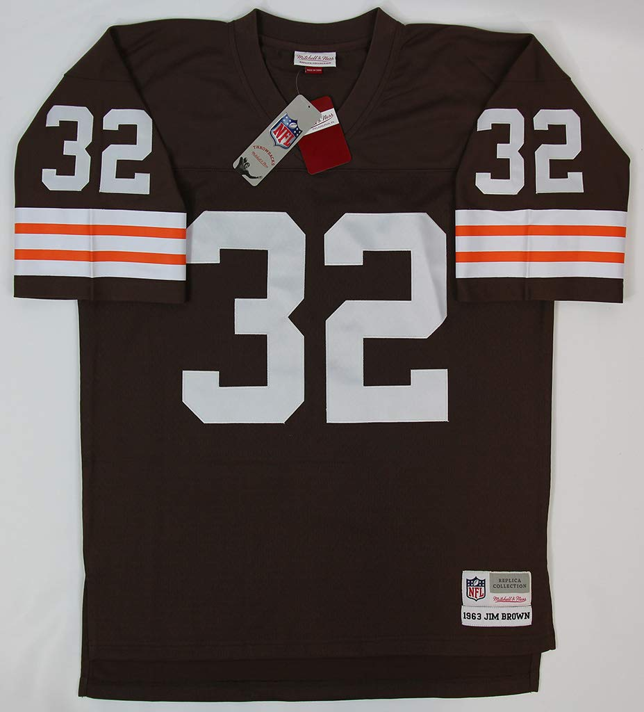 buy online 1fc6d 34417 Jim Brown Cleveland Browns Jersey - Hand Signed By Jim Brown ...