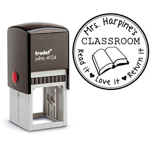 Library Teacher Customizable Personalized Classroom