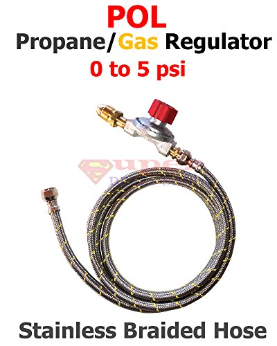 pol-propane-gas-regulator-adjustable-0-to-5-psi-3-ft-stainless-steel-braided-hose-super-deals-shop