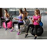 Emoly Exercise Ball for Yoga, Fitness, Balance