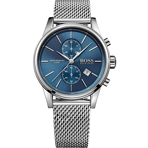 Hugo Boss Hugo Boss 1513441 Blue / Silver Stainless Steel Analog Quartz Men's Watch