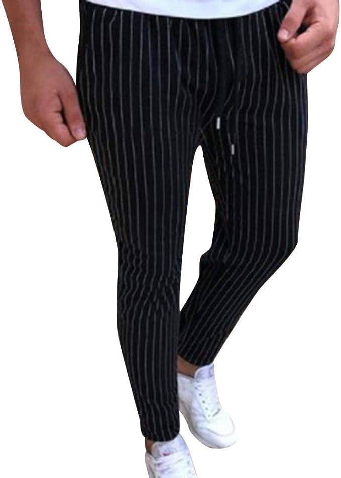 Pantalones Deportivos Para Estilo Jogging Fitness Con Hombres A ...