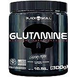 Glutamina Pura 300g Caveira Preta Glutamine - Black Skull