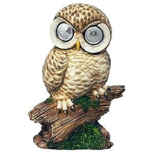 Owl Automatic Garden Solar LED Light