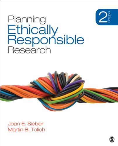 Planning Ethically Responsible Research (Applied Social Research Methods) Pdf