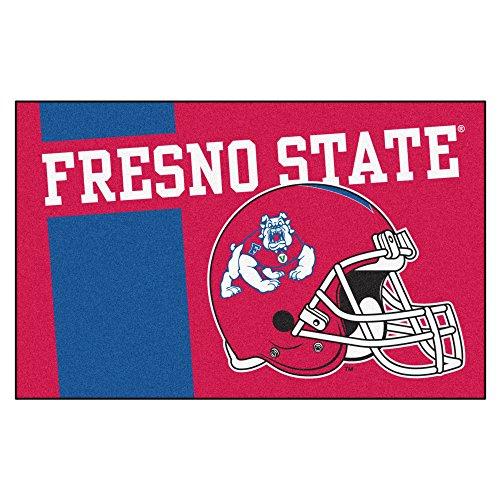 Fresno State University Custom Logo Starter Rug