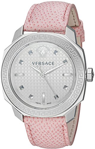 Versace-Womens-VQD010015-Dylos-Analog-Display-Swiss-Quartz-Pink-Watch