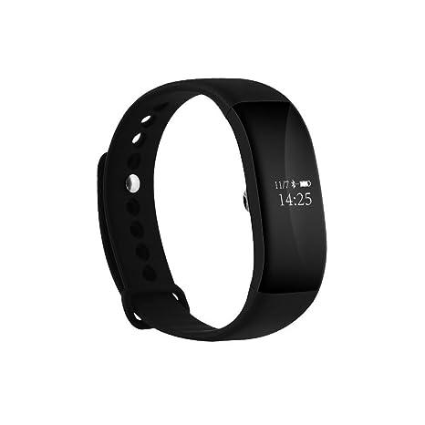 Gran pantalla táctil USB Conector directamente carga brazalete deportivo móvil reloj con pulsómetro, – Tensiómetro