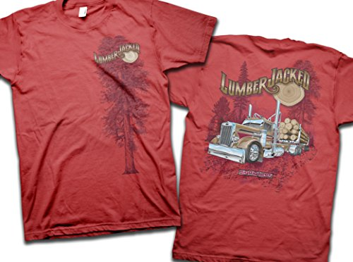 Big Rig Tees 'Lumber Jacked' T-Shirt (X-Large) for sale  Delivered anywhere in Canada