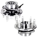 Automotive : ECCPP 515036 Brand New Complete Front Wheel Hub Bearing Assembly Escalade, Express, Savana, Sierra, Yukon, 2000-07 GMC/Chevy Trucks 4x4 6 Lug W/ ABS 4WD (515036 x2)