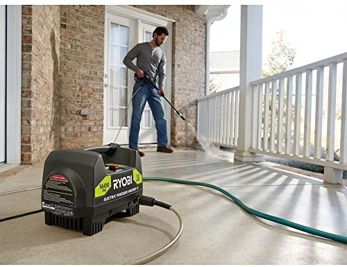 (Ryobi 1,600-PSI 1.2-GPM Electric Pressure Washer (Model RY141612))
