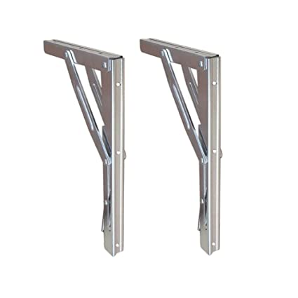 Atv,rv,boat & Other Vehicle Home Furnishing Heavy Duty Stainless Steel Shelf Bracket 11 Folding Table Seat Brackets 250kg Load
