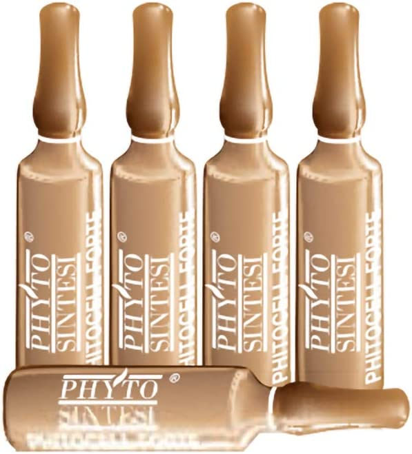 Frasco corporal anticelulítico PHYTOCELL fuerte 20 ampollas de 10 ml PHYTO SINTESI