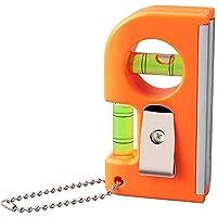 BIlinli 5pcs Runde Wasserwaage Mini Wasserwaage Bullseye Level Measurement Instrument