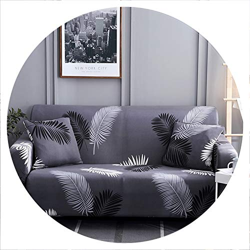sensitives Elegant Modern Sofa Cover Spandex Elastic Polyester Floral 1/2/3/4 Seater Couch Slipcover Chair Living Room Furniture Protector,Model 9,3 Seat (190-230cm) (Uk Outdoor Furniture Ebay)