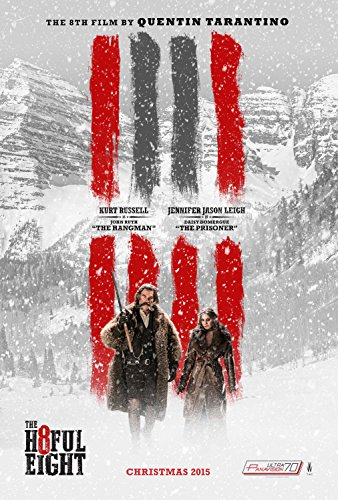 The Hateful Eight Movie Poster, Glossy Finish Thick: Kurt Russell, Jennifer Leigh