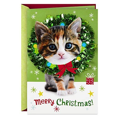 Hallmark Musical Christmas Card (Cats, O Christmas Tree) (Greetings Card For Mom Christmas)