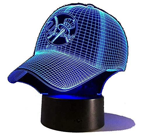 Yankee Hat 3D Color-Changing Light