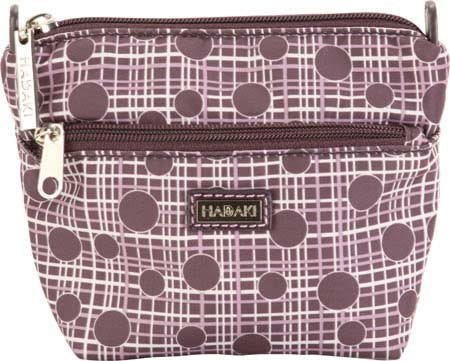 hadaki-double-zip-pouch-plum-perfect-plaid