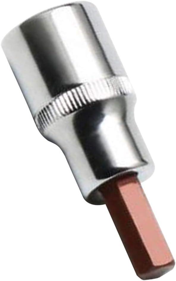 Cl/é /à Douille Hexagonale Tournevis /à Six Pans Creux 1//2  Convient Pour Tournevis Pneumatiques 4mm