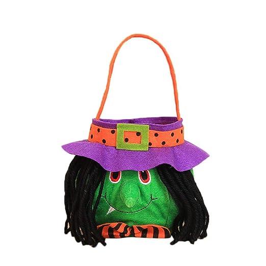 Bolsas de caramelo, caja de tarro para niños de Halloween ...