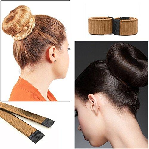 Hosaire Perruque De Cheveux Bun Maker Cheveux Donut Donut Hair Piece Bob Maker Outil Cheveux