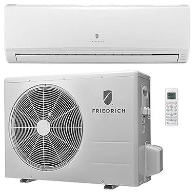 Friedrich Ductless Split System With Heat Pump, 16 Seer, 115v, 18,000 Btu