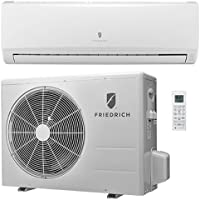 Friedrich Ductless Split System With Heat Pump, 16 SEER, 208/230V, 24,000 BTU