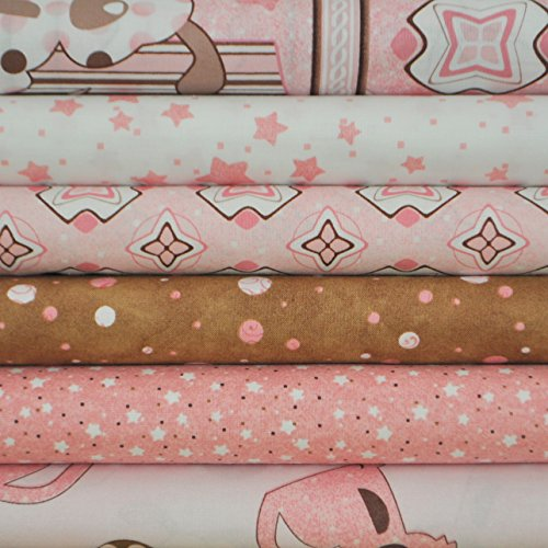 - Peek A Boo from South Sea Imports 6 fabric fat quarters, 100% cotton, 1 1/2 yards total