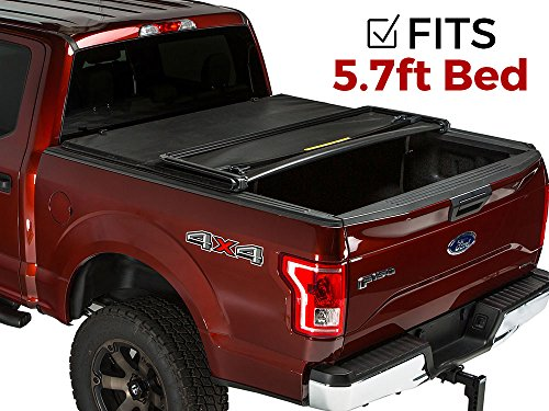 Gator Tri-Fold Tonneau Truck Bed Cover  Dodge Ram 2009-2017 5.7 ft Bed w/o RAM Box 59201