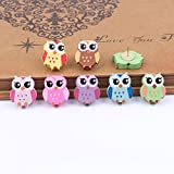 50 PCS Owl Design Pushpins Drawing Pin For Shcool or Office