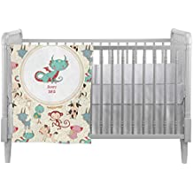 Chinese Zodiac Crib Comforter / Quilt (Personalized)