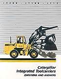 1985 ? Caterpillar Tool Carrier Loader Brochure
