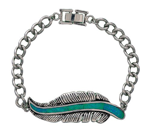 Montana Silversmiths The Storyteller Feather Bracelet