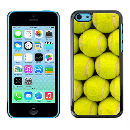 Hülle Case Schutzhülle Cover Premium Case // V00002438 Tennisbälle // Apple iPhone 5C