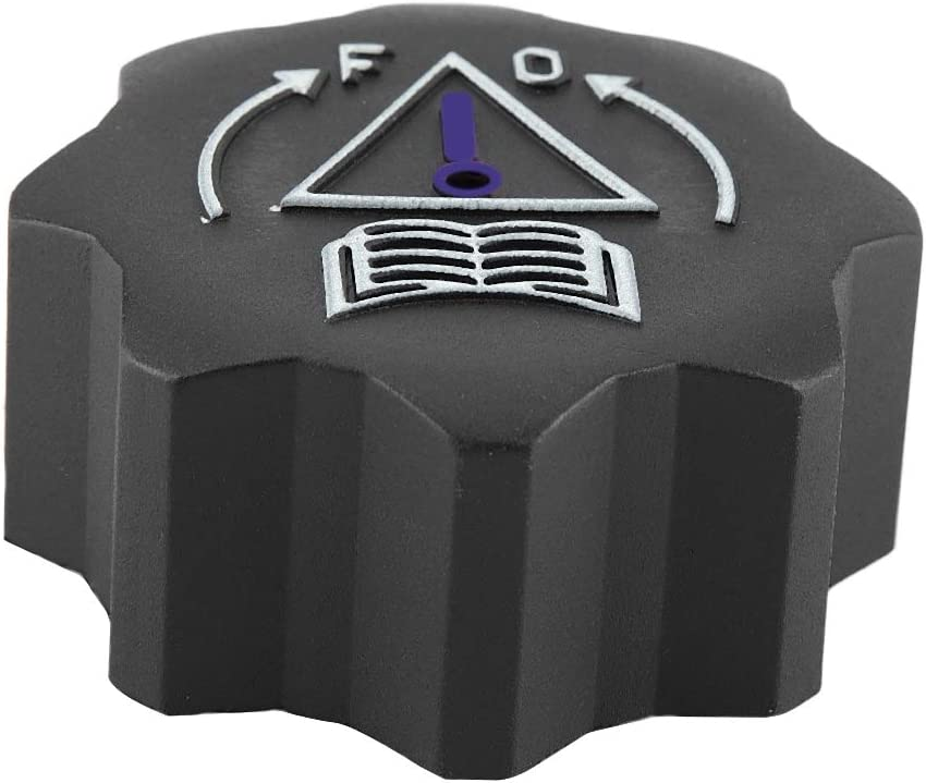 Tapa del Tanque de Aceite Tap/ón del Radiador del Coche Cubiertas del Llenador de Aceite para 106 107 206 207 307 308 406 407 807