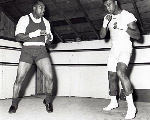 Globe Photos ArtPrints Muhammad Ali Training with Archie Moore - 10