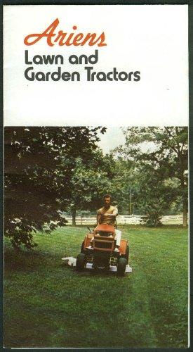 Ariens Lawn & Garden Tractors sales folder 1974