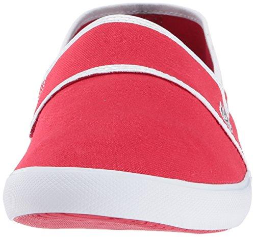 Lacoste Mens Marice 317 1 Sneaker Red/White ExjzJA