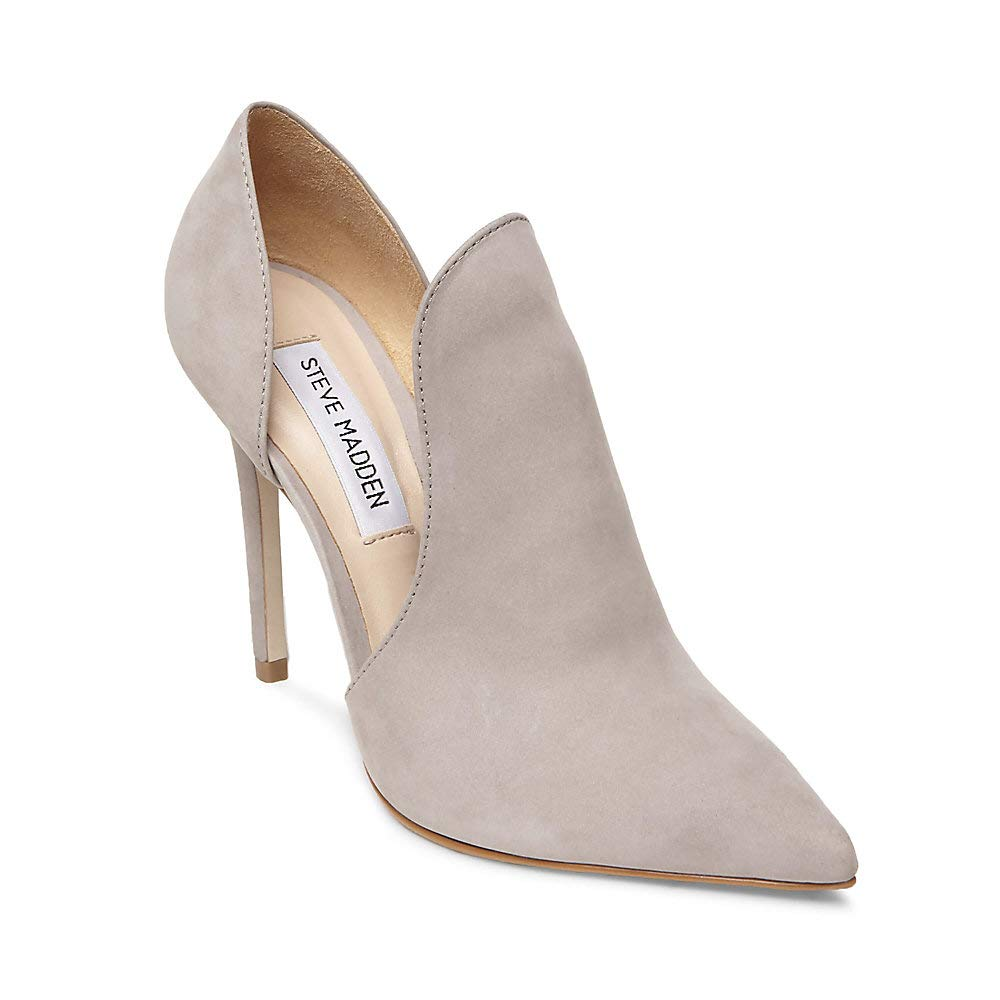 f79908d919ea Steve Madden Women s Dolly Dress Closed Light Grey 6 M US  Amazon.in  Shoes    Handbags