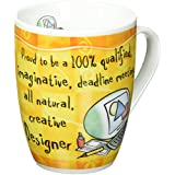 Occupational Mugs 'Designer' Mug, Dandelion