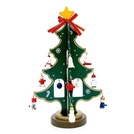 kentop Mini Árbol de Navidad DIY Desktop Mini Árbol de Navidad ...