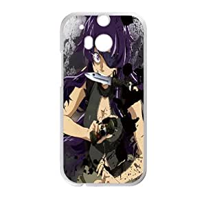 Character Printed Phone Case Mirai Nikki For HTC One M8 NC1Q02247