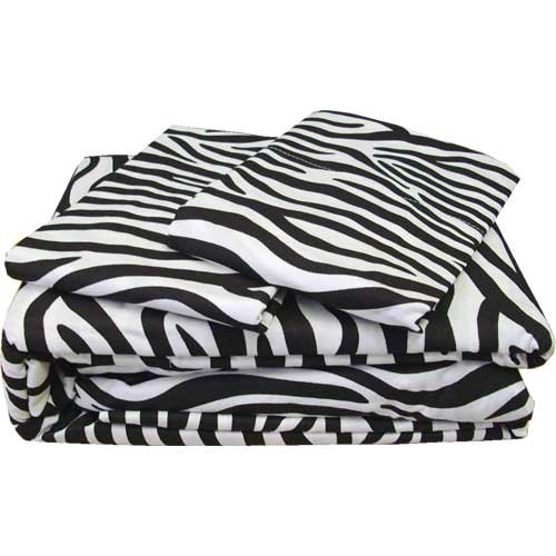 Small striped zebra bedding