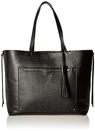 Rebecca Minkoff Panama Tote Shoulder Bag, Black, One Size