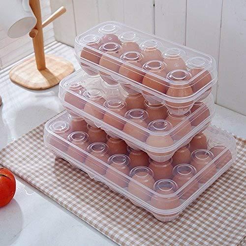 UMCCY Cocina Nevera con Huevos Frescos Caja de Almacenamiento de ...