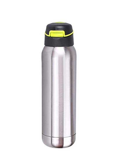 8685b2da0 Buy Menzy Easy Sip Spill Proof Double Wall Stainless Steel Water Bottle